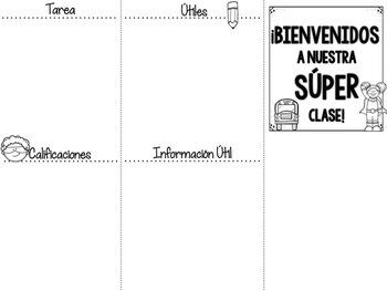 Superhero Classroom Brochure [Editable]