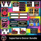 Superhero Decor Classroom Theme