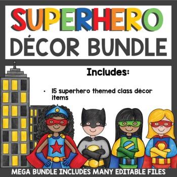 Superhero Class Decor Bundle
