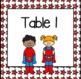 Superhero Classroom Decor Set