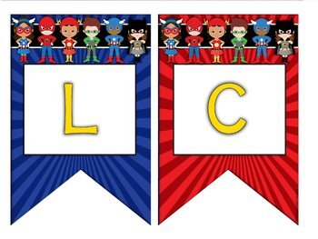 Superhero Classroom Decor Welcome Banner or CREATE YOUR OWN