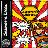 Superhero Classroom Helper Pack