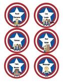 Superhero Classroom Job Chart