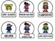 Superhero Classroom Job Labels
