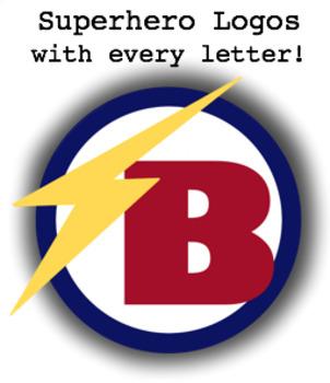 Superhero Classroom Logos