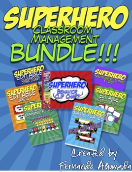 Superhero Classroom Management BUNDLE!!!