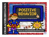 Positive Behavior Classroom Management System- Superhero Theme!