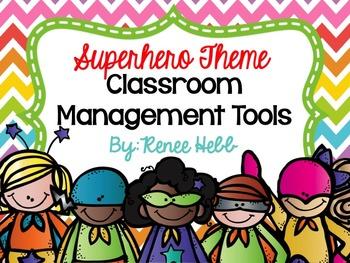 Superhero Classroom Management Tools