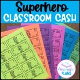 Superhero Classroom Reward Cash/Bucks with Math Facts (You
