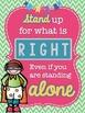 Superhero Classroom Motivational Quote Posters