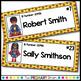 Superhero Editable Classroom Name Tags