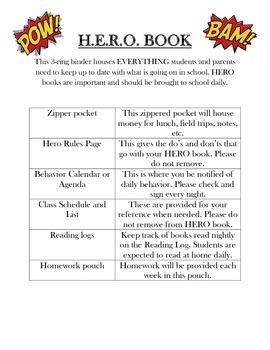 Superhero Classroom Pack