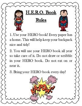 Superhero Classroom Pack additional version