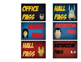 Superhero Classroom Passes