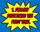 Superhero Classroom Rules (Super Hero Theme)