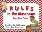 Classroom Rules-Superhero