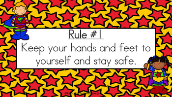 Superhero Classroom Rules Posters