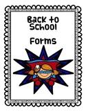 Superhero Classroom Sign In Sheets