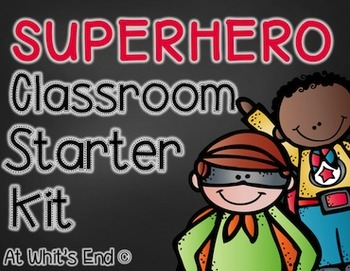 Superhero Classroom Decor {Back to School BUNDLE}