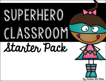 Superhero Classroom Starter Pack