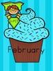 Superhero Classroom Theme - Birthday Cupcake Posters