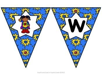 Superhero Classroom Theme Bundle