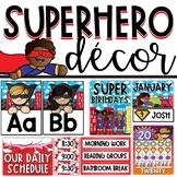 Superhero Classroom Theme Decor Bundle