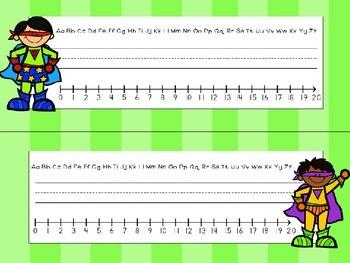 Superhero Classroom Theme - Deskplates