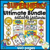 Superhero Classroom Theme Ultimate Bundle