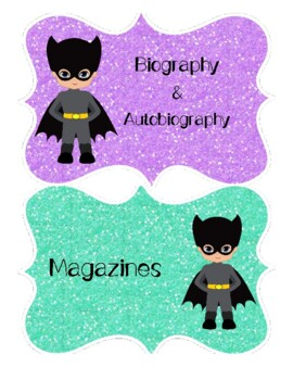 Superhero Classroom Variety Packet