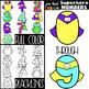 Superhero Clip Art BUNDLE- Superhero Letters, Numbers, & Shapes {NEON}