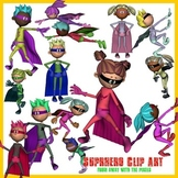 Superhero Clip Art - Clipart With Free Preview Image NOW W