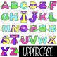 Alphabet Letters Clip Art - Superhero Neon Letters {jen hart Clip Art}