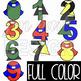 Superhero Clip Art - Superhero Numbers {BOLD}