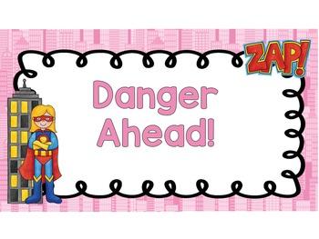 Superhero Clip Chart for for Big Kids (grades 3 - 5)