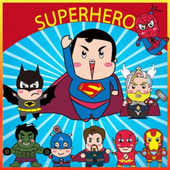 Superhero Clipart
