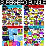 Superhero Clipart Bundle {Creative Clips Clipart}
