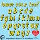 Superhero Clipart Letters and Numbers, Lower Case Alphabet Yellow, AMB-2442-7