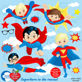 Superhero Clipart, Superhero digital Clipart, Super Hero Clipart, AMB-1345