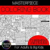 Superhero Coloring Pages: Masterpieces {Made by Creative Clips}