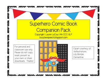 Superhero Comic Book Companion!