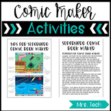 Superhero Comic Book Maker Activities