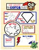 "Super Hero Comic Book Themed ""All About Me"" - Printables a"