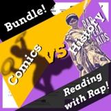 Superhero Reading Comprehension Activities Using Women in