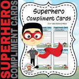 Superhero Compliment Cards