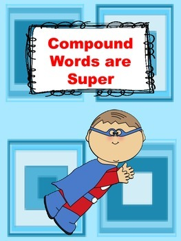 Superhero Compound Word Activity