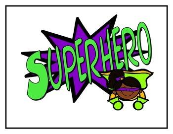 Superhero Conduct Chart
