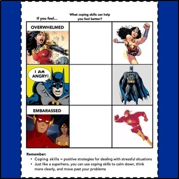 Superhero Coping Skills