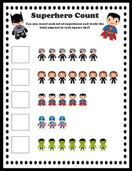 Superhero Count