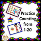 Superhero Counting Clip Cards from 1-20
